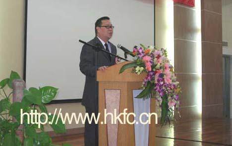 广东省服装设计师协会秘书长谢青发言