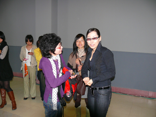 """中国十佳服装设计师林姿含羊城""""传道"""""""