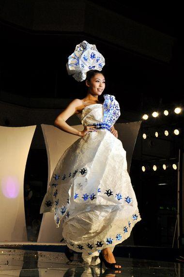 紙藝服裝設計創意