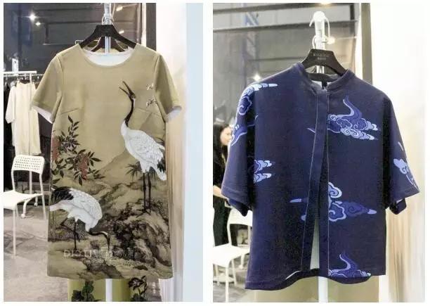 中国风现代服装手绘